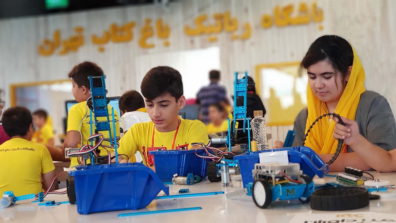 دوره مقدماتی آموزش رباتیک مهندسین فردا